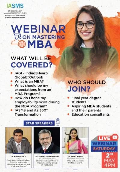 Free Webinar For MBA Aspirants